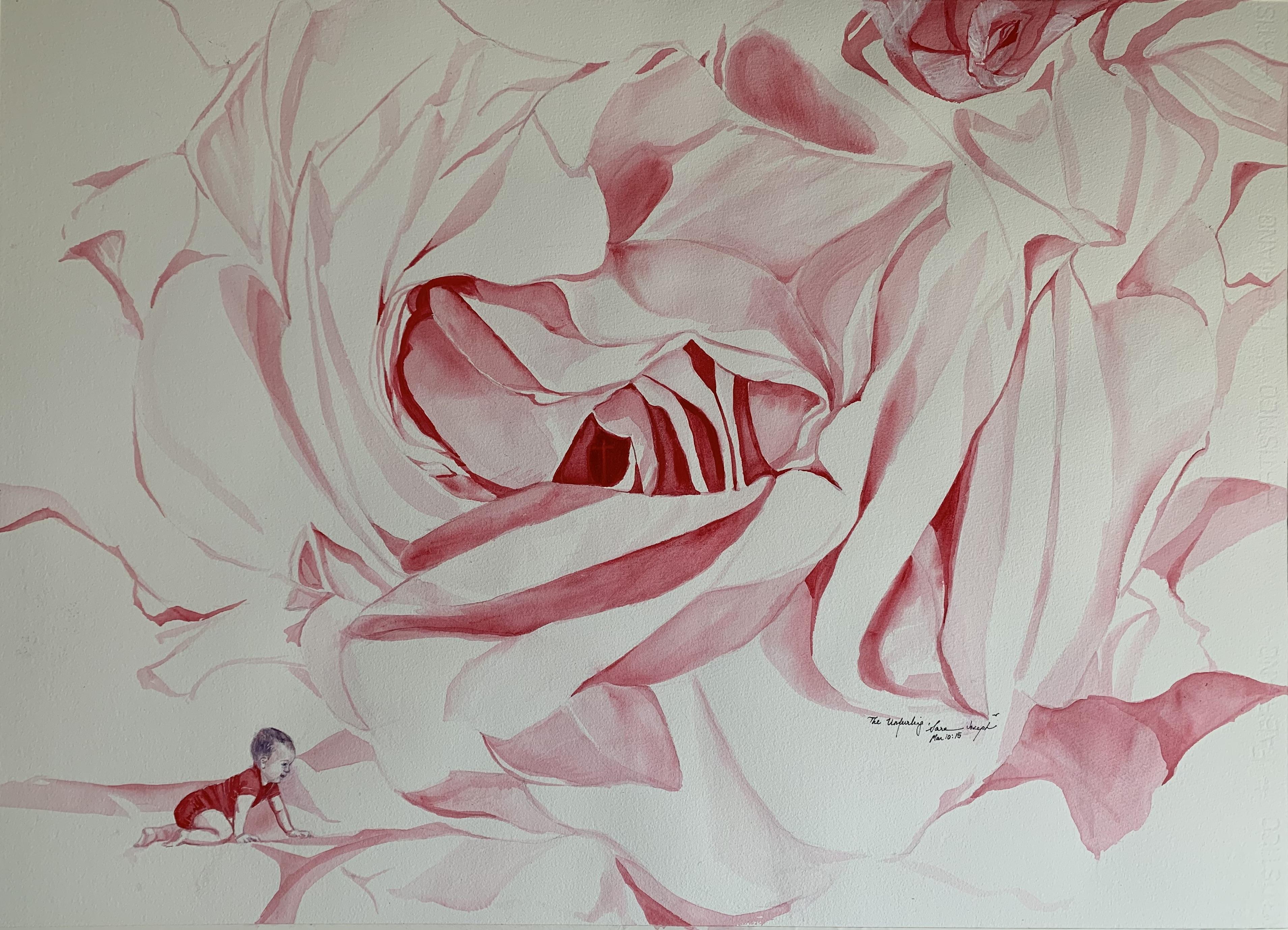 The Unfurling, Watercolor