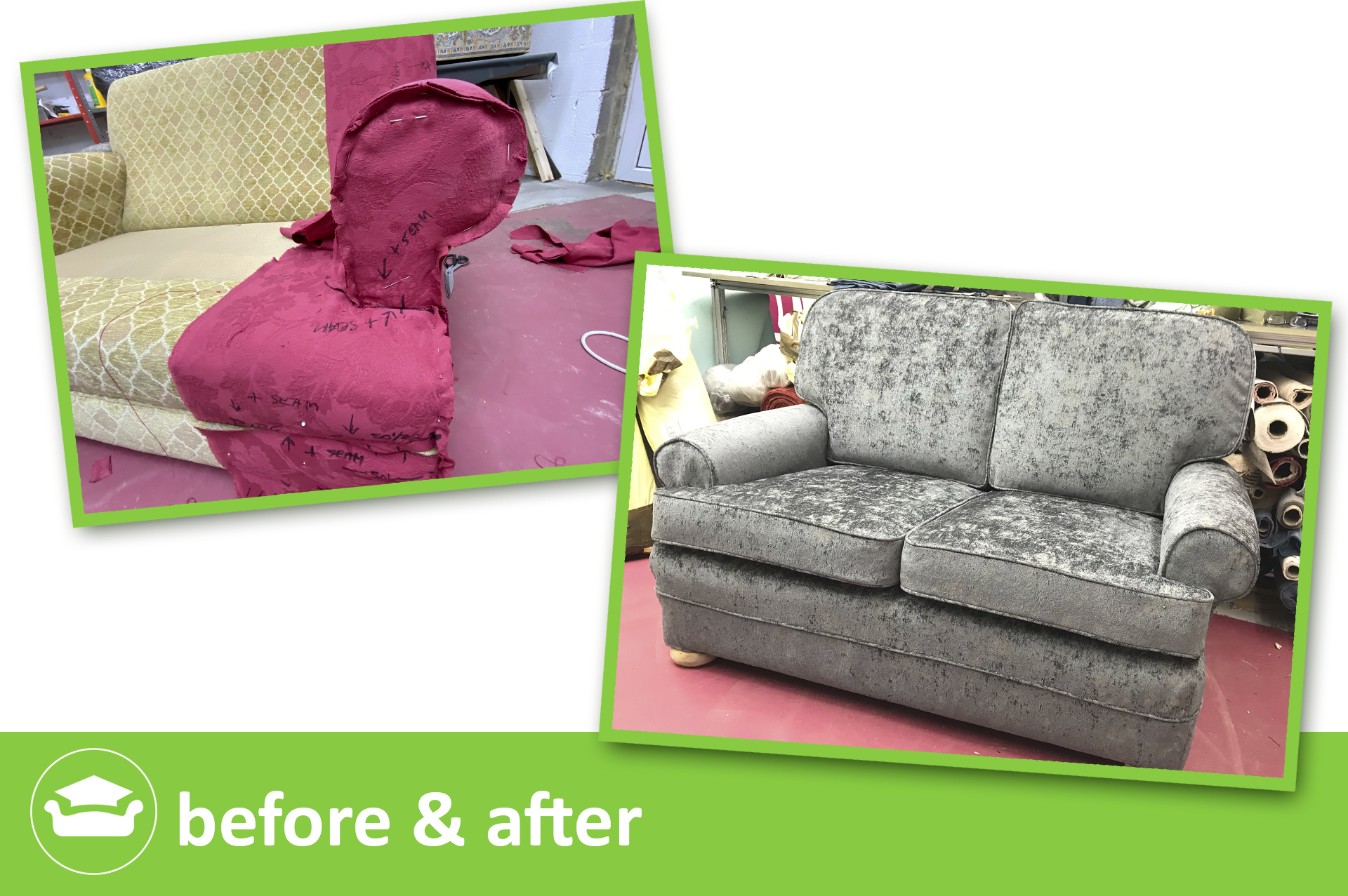 learn slipcovers for a sofa with scroll arms