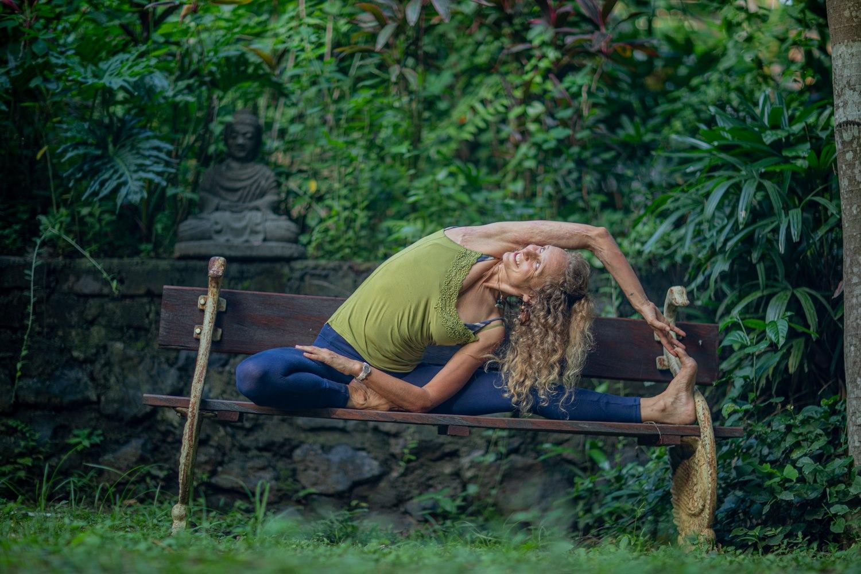 Yoga studies with Bex