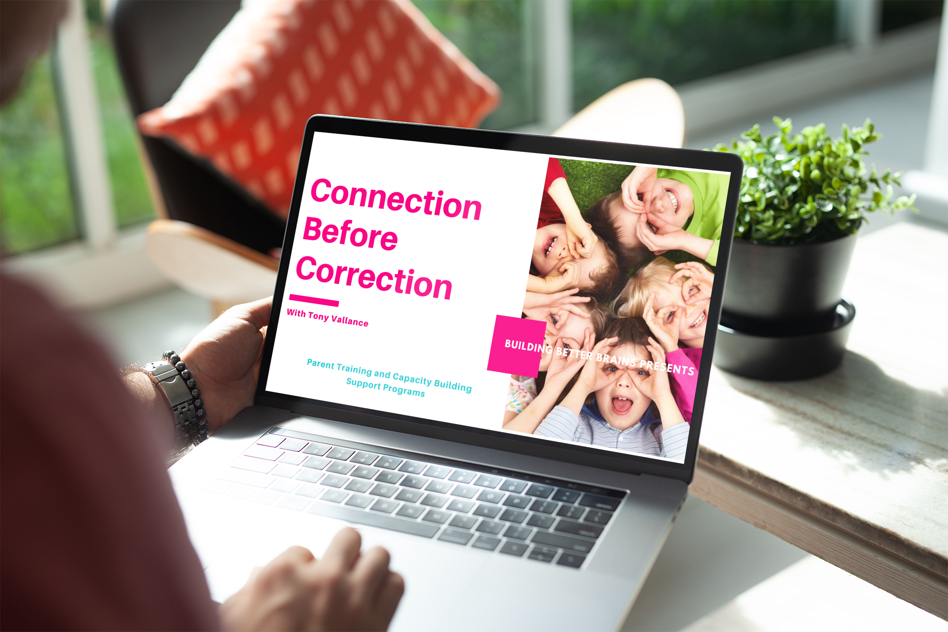 Connection Before Correction Course