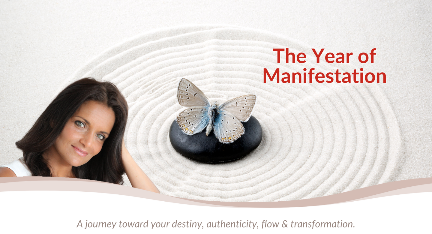 The Year of manifestation Banner