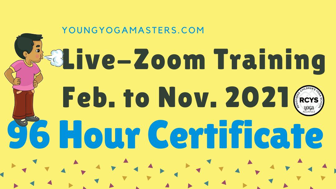 Live Zoom Online Kids Yoga Teacher Training