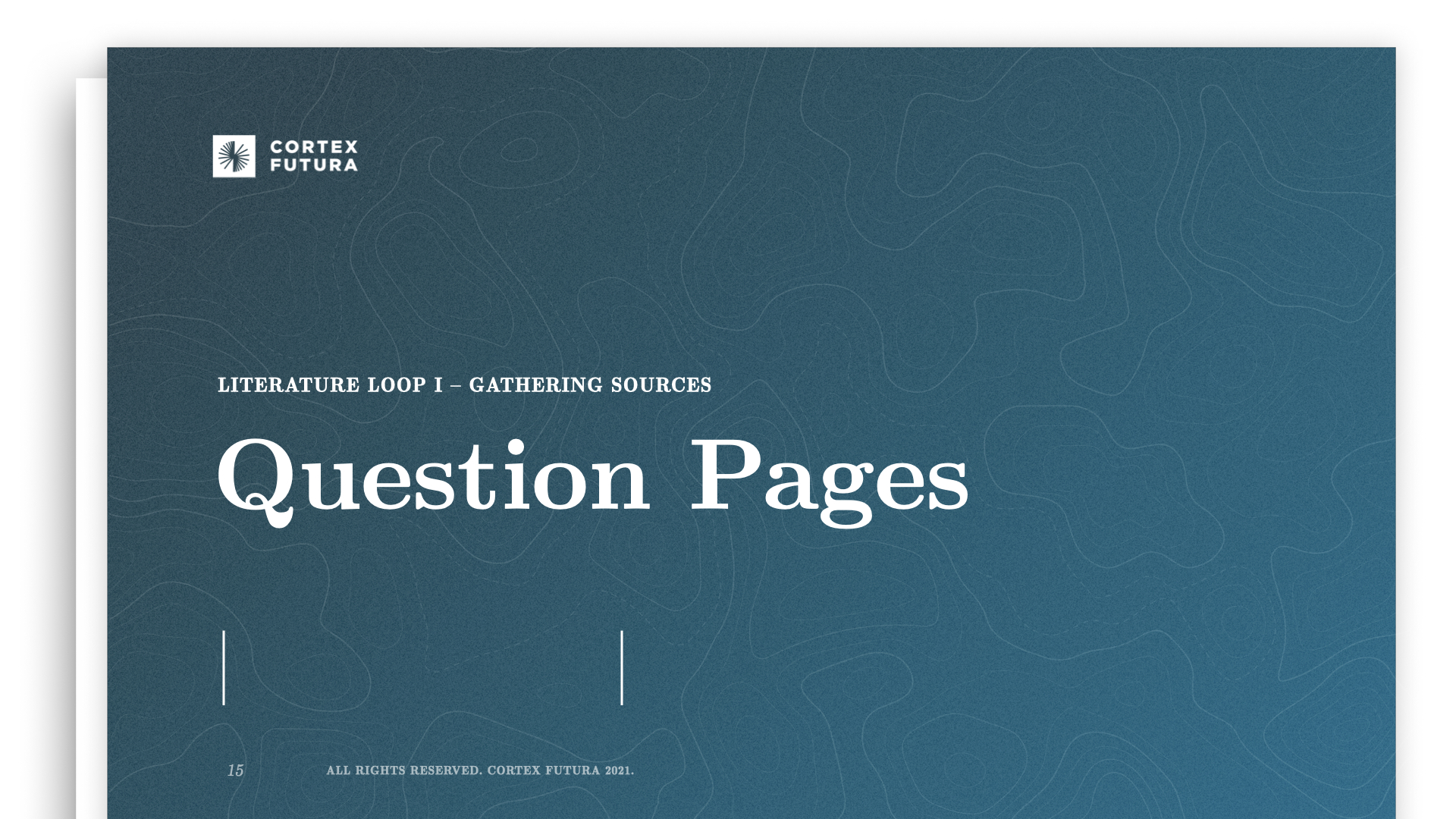 Question Pages