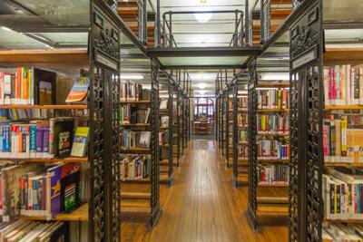 Ottendorfer Library Shelves