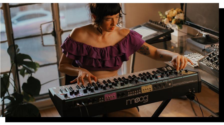 learn music production with Lauren Kop IO music
