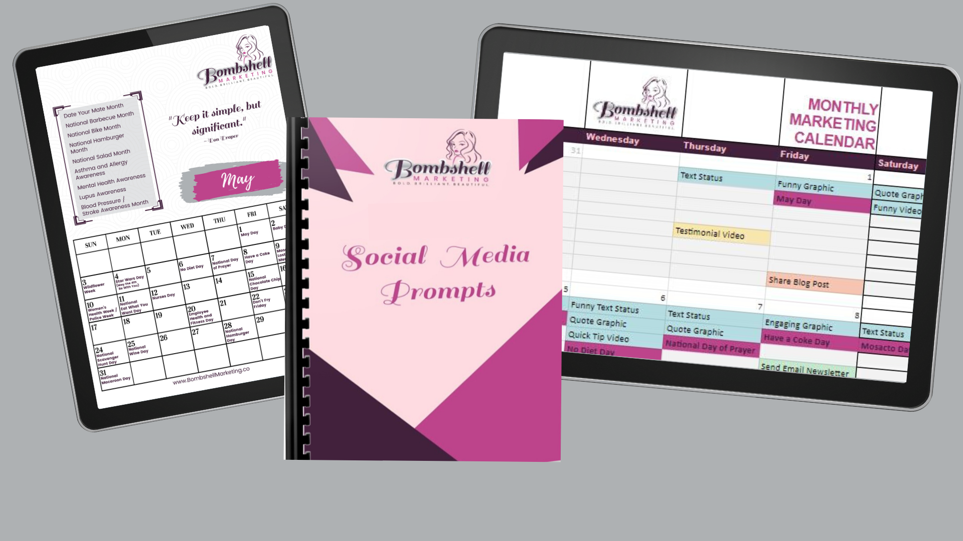 Savvy Social Media Prompts & Planning