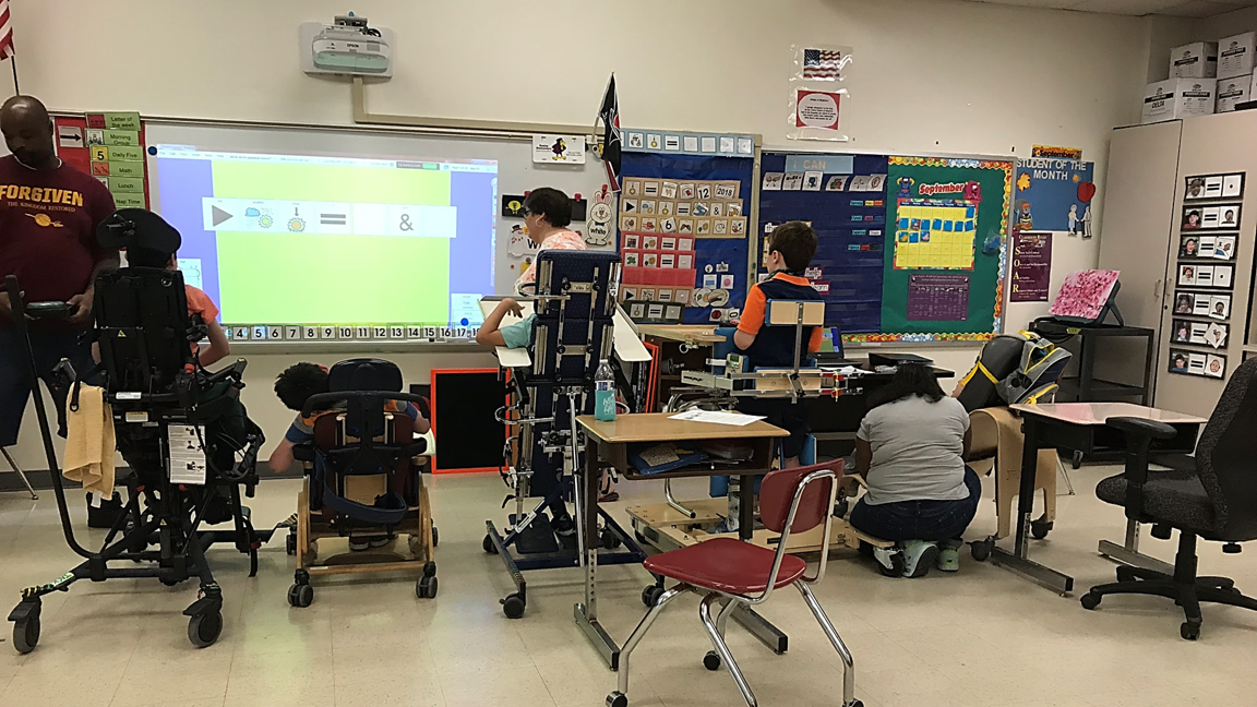 Implementing Assistive Technology for Students with Multiple Disabilities