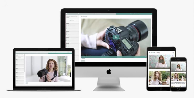 Aprende Fotografia curso online movil y ordenador