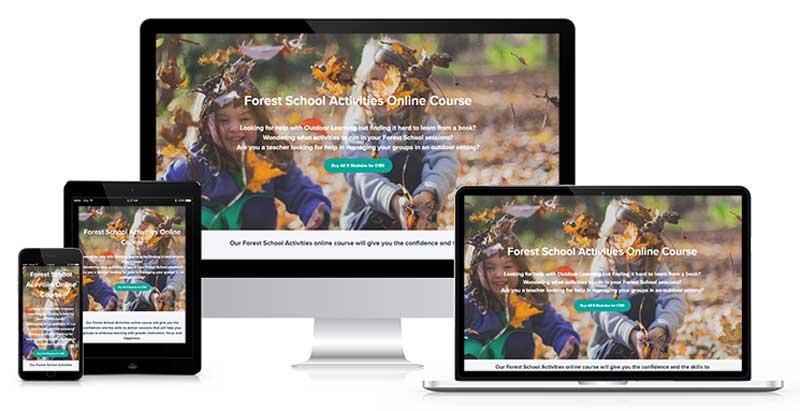 forest school activities online course