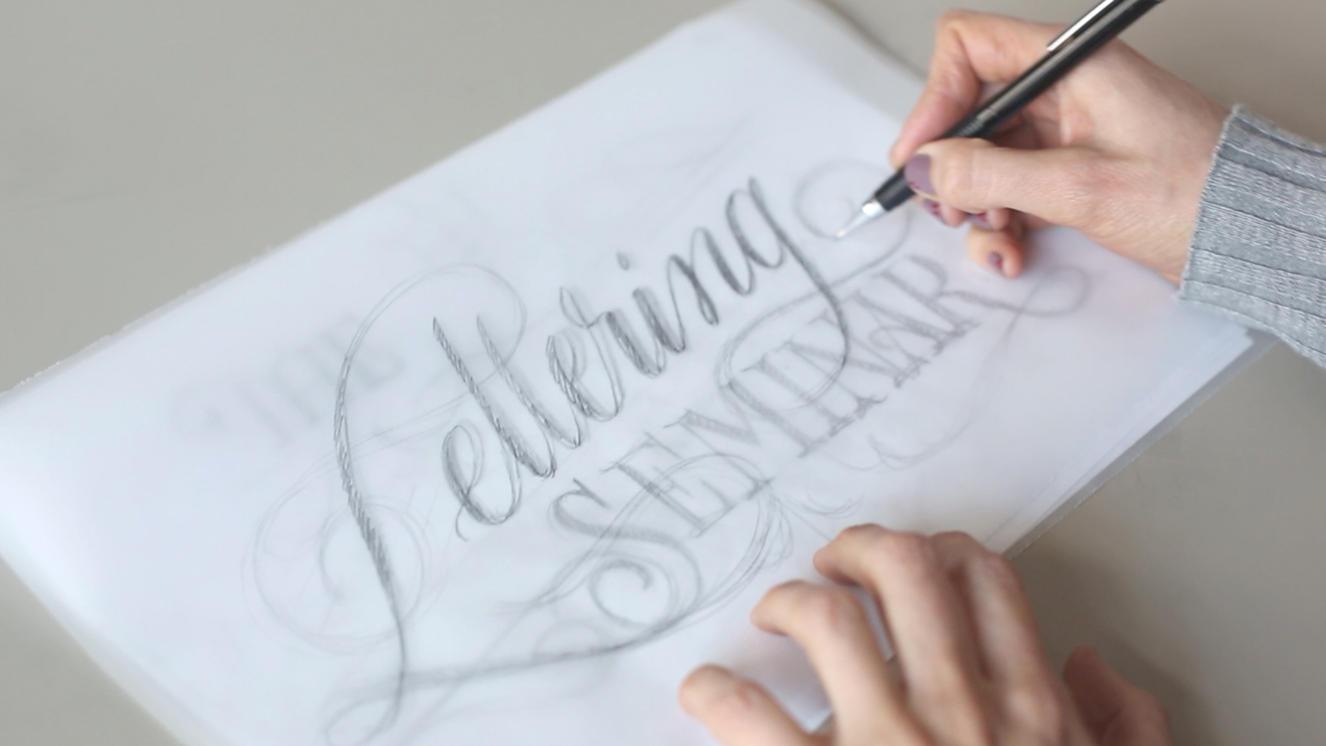 SKETCHING LETTERFORMS