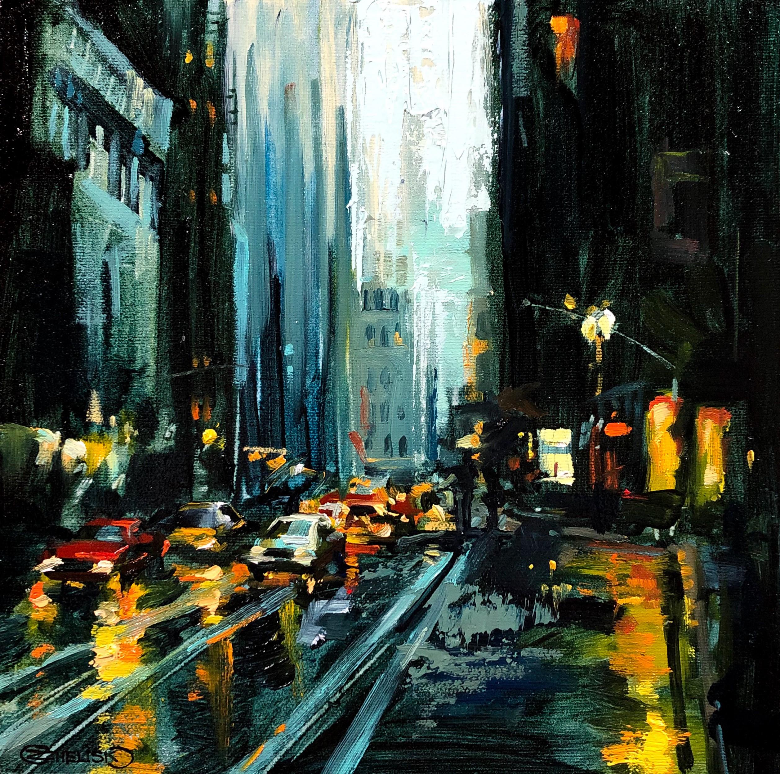 Urban Landscape in Oil