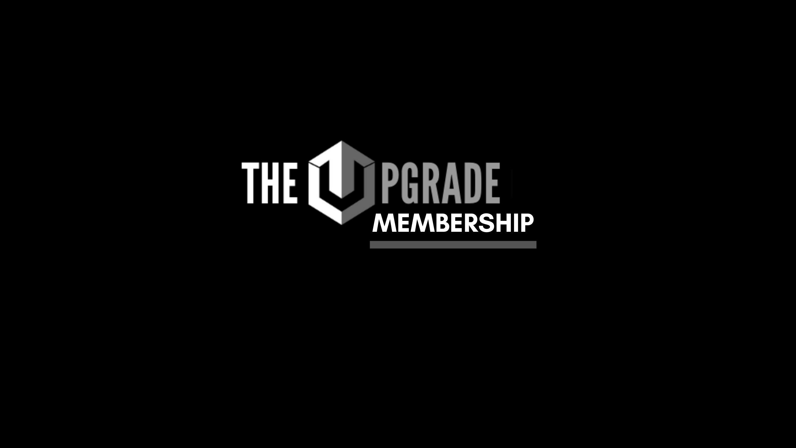 Upgrade Guys Membership