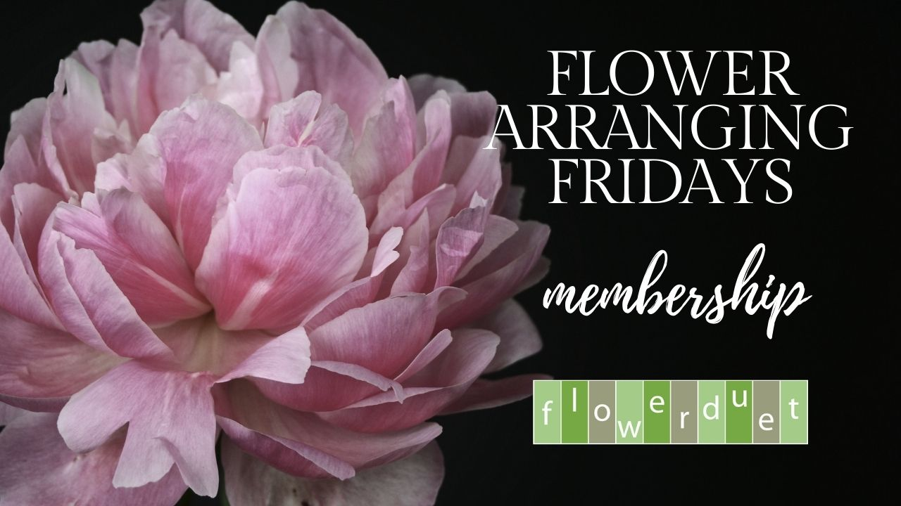 Flower Arranging Fridays Membership