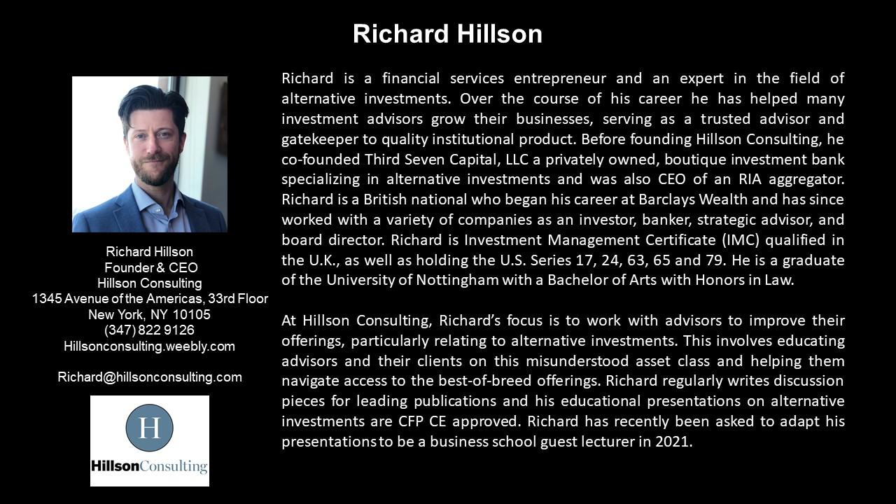 APEG Richard Hillson