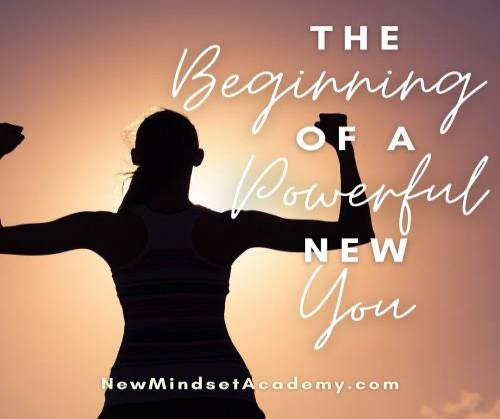 The beginning of a powerful new you #abundancemindset