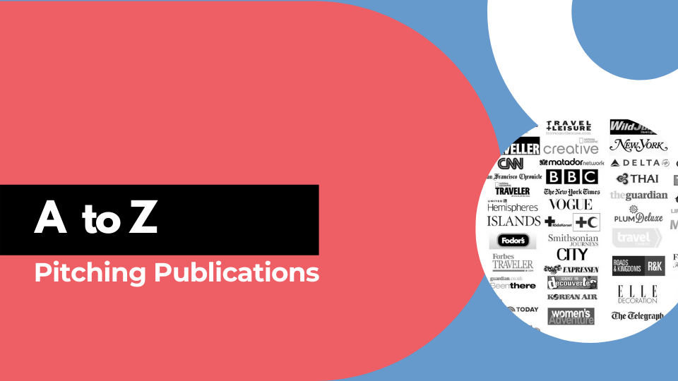A to Z of Pitching Publications  - Lola Akinmade Åkerström