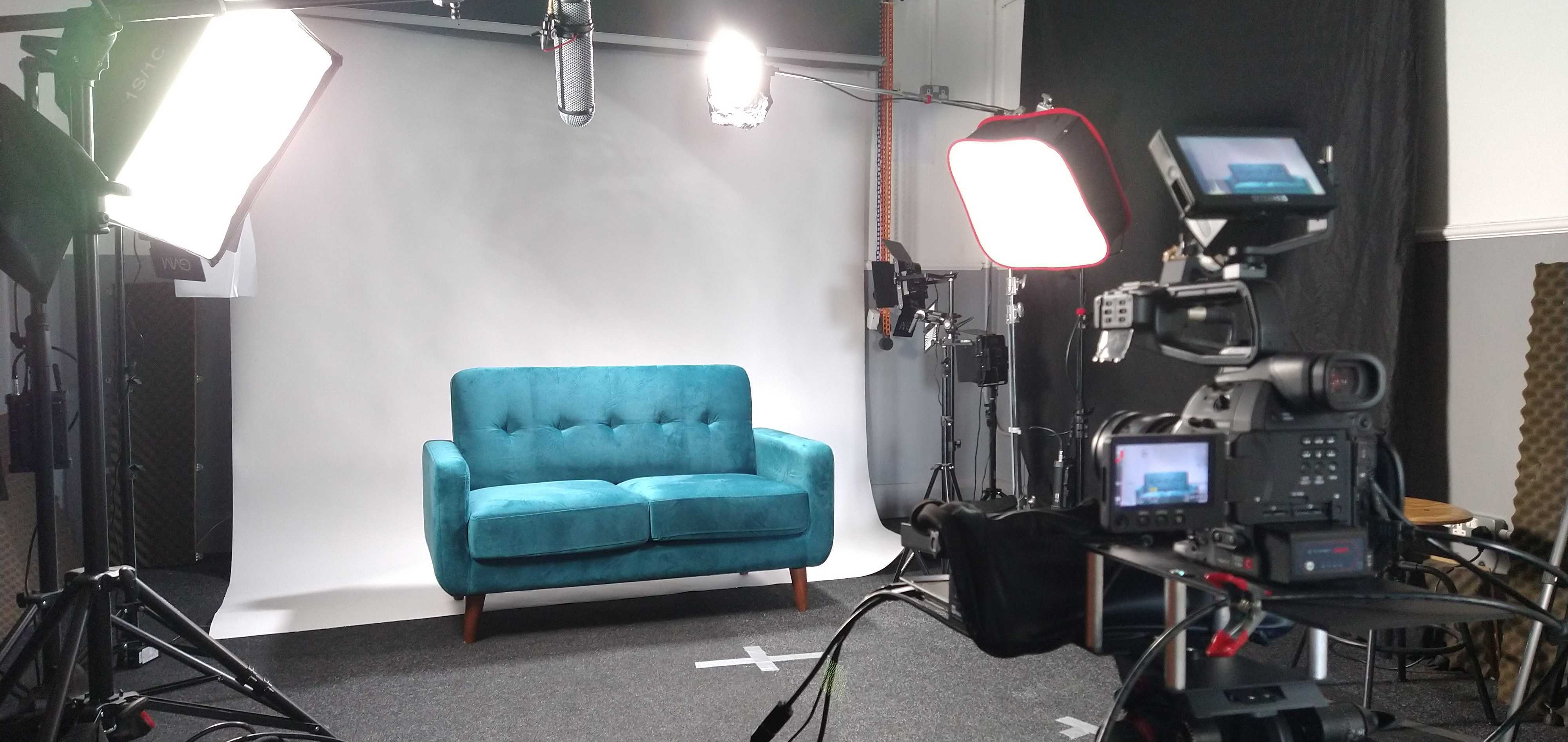 filming how to create an animation studio