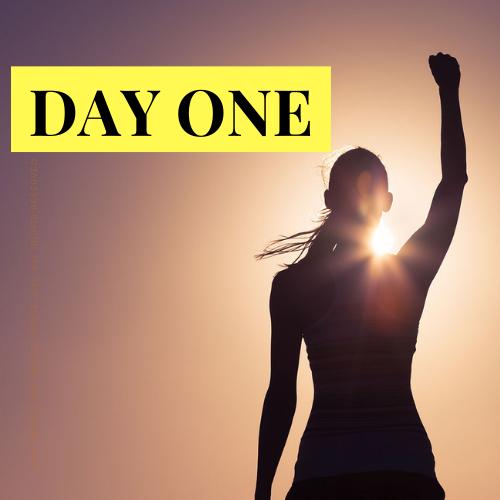 day 1 live challenge reclaim your powa