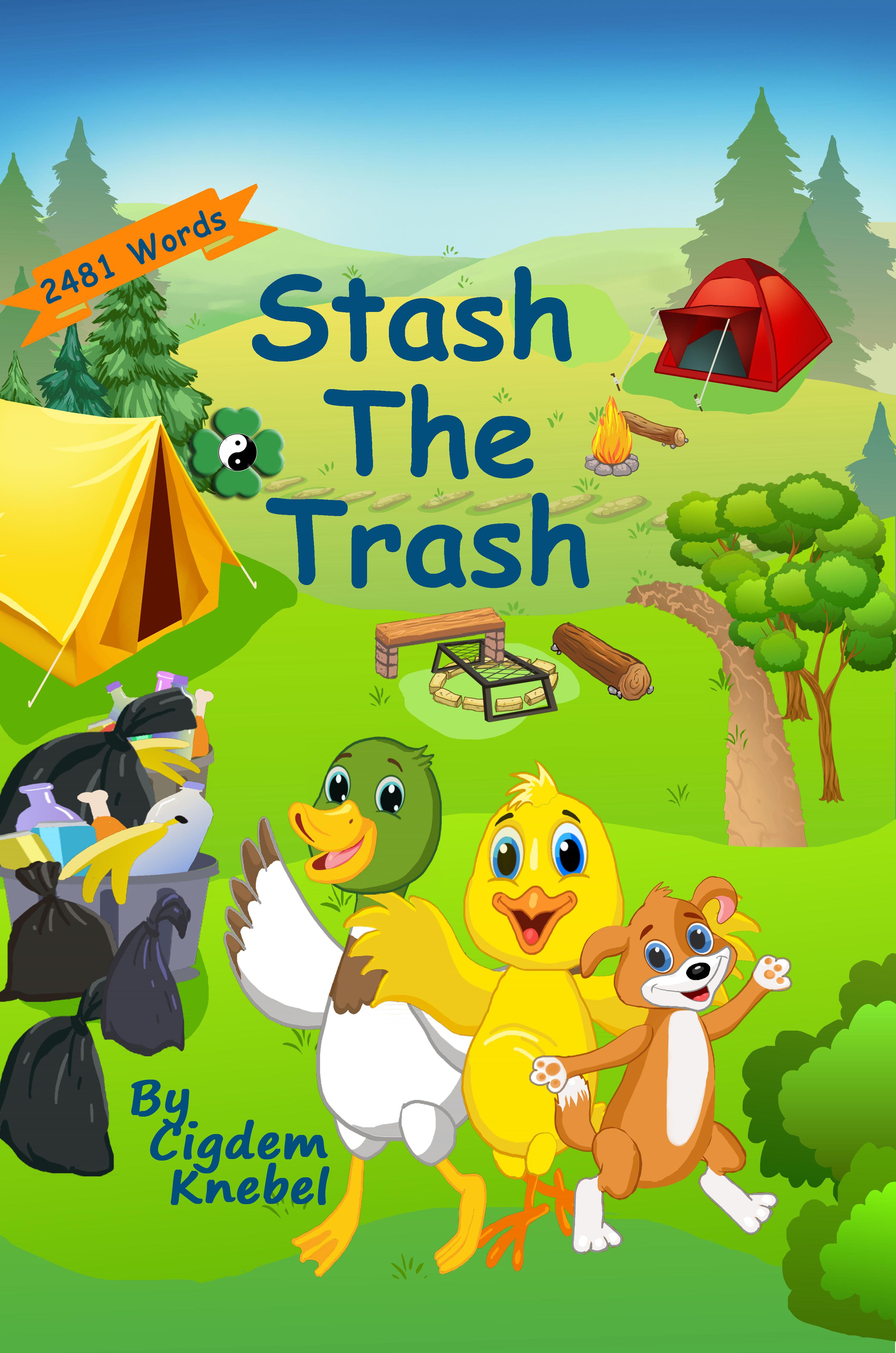 Stash The Trash- Simple Words Books