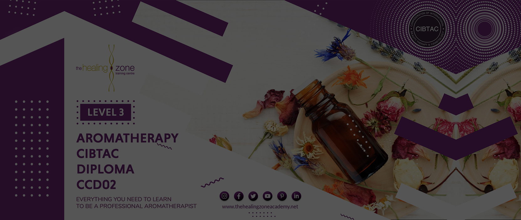 Aromatherapy CIBTAC diploma