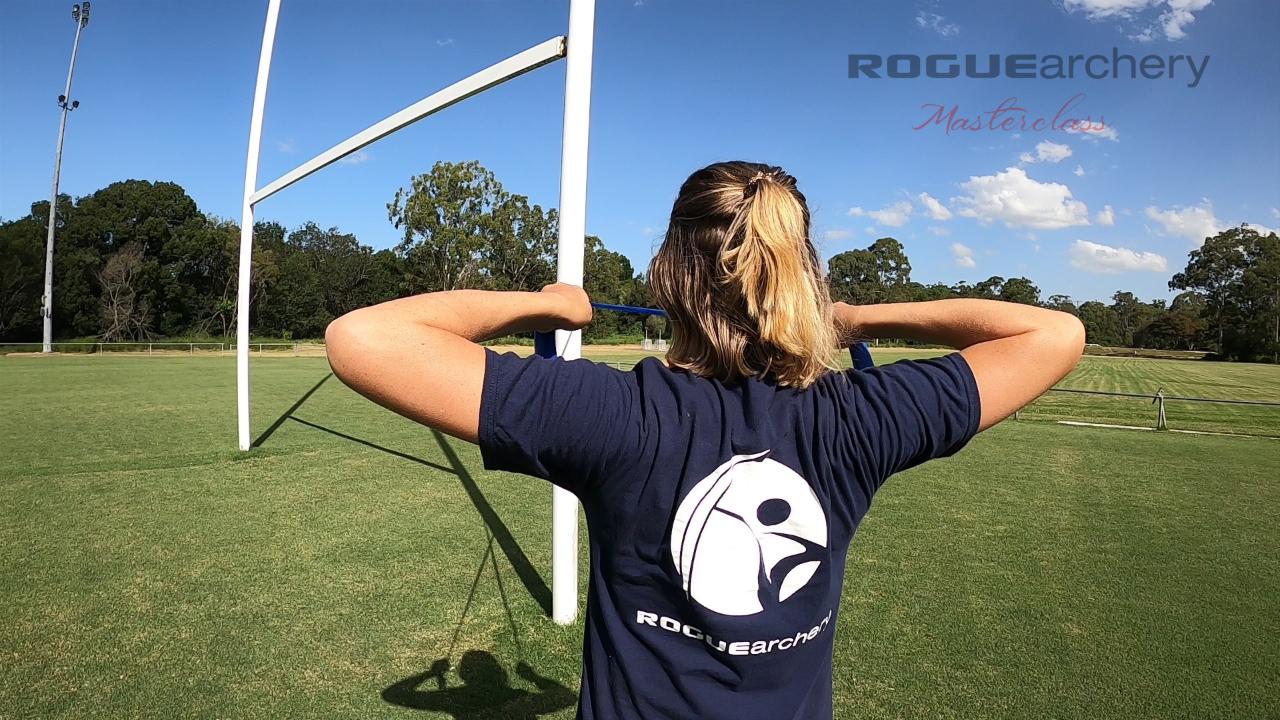 Archery exercises Delia Evans archery training back tension recurve archery archery fitness strength Recurve Archery Technique Fundamentals | Archery Coaching | Rogue Archery Masterclass | Olympic Archery | Online Coaching | Archery Form