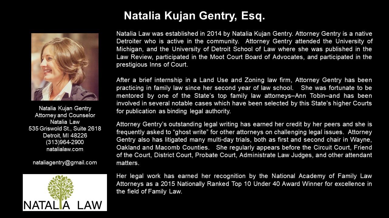 APEG Natalia Gentry