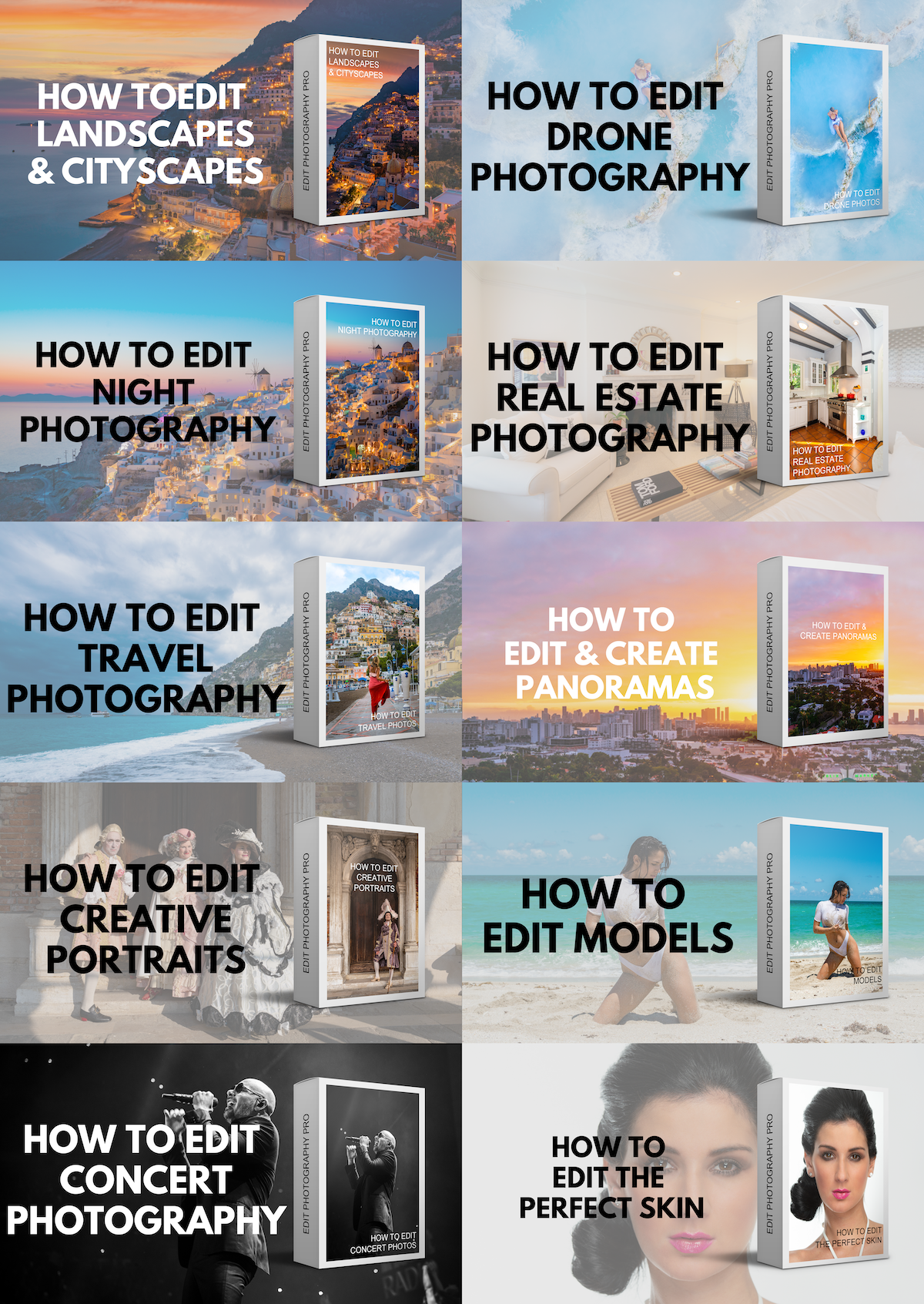 Photography editing course
