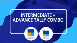 Intermediate + Advance Tally Prime with GST