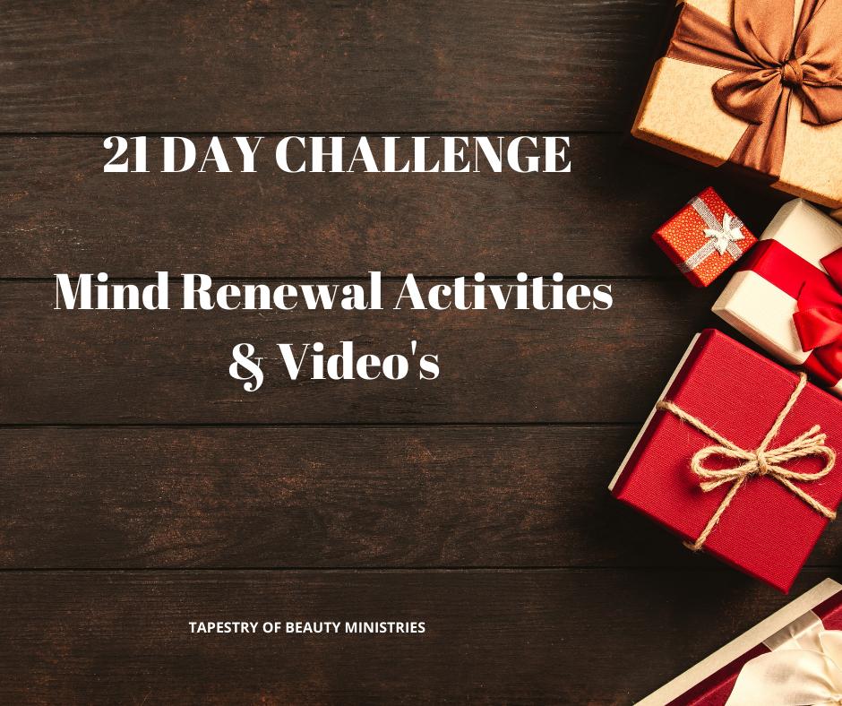Mind Renewal Activities