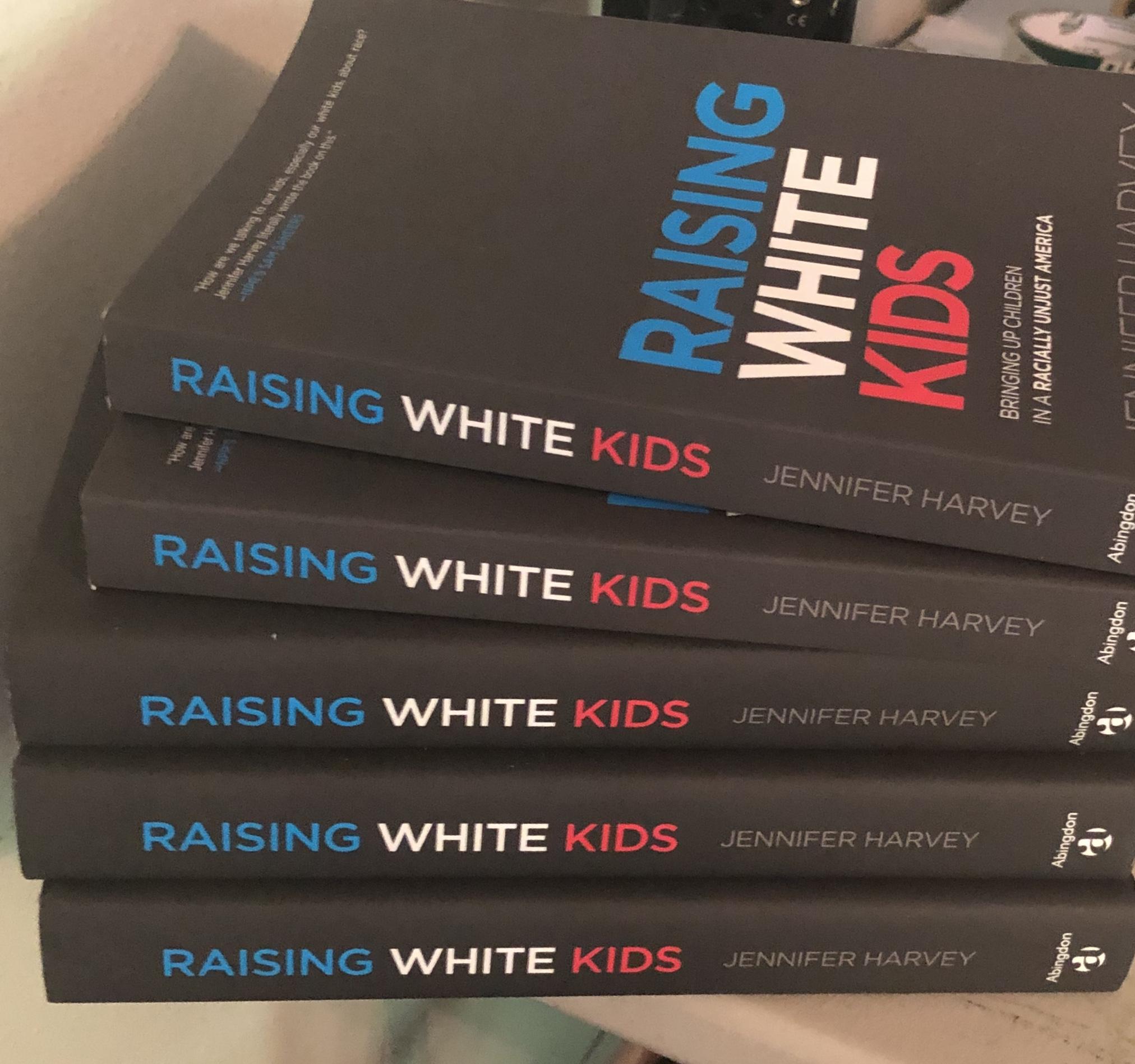 Image of book raising white kids.