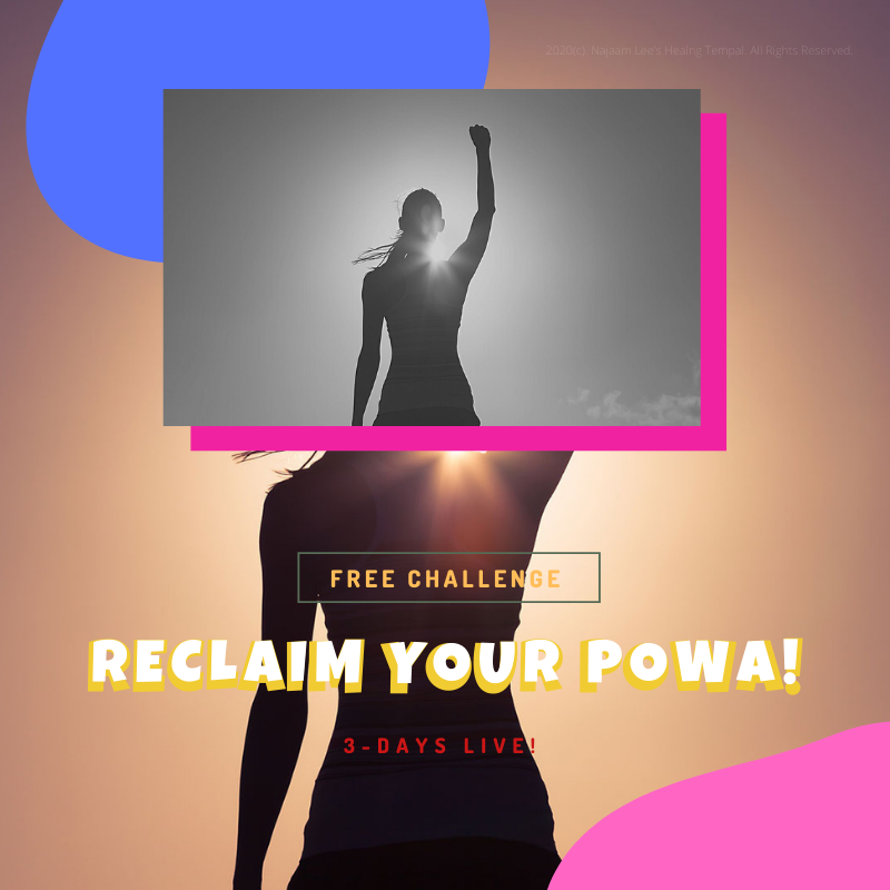 Reclaim Your Power 3 Day Live Challenge