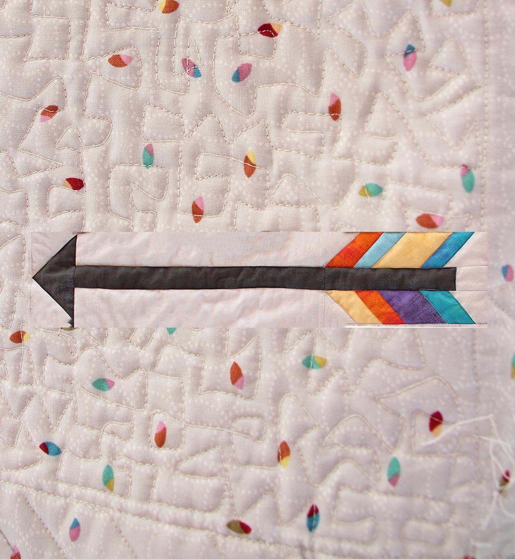 arrow quilt block