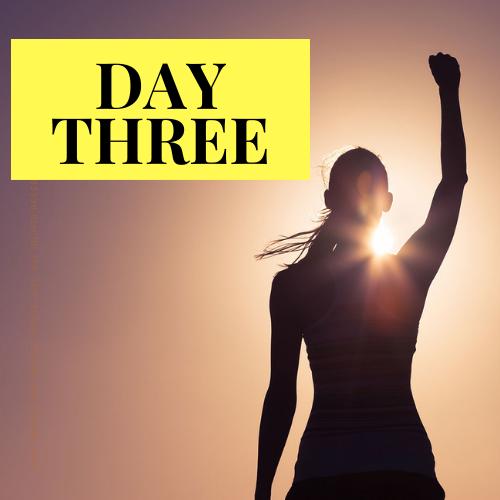 day 3 of live challenge reclaim your powa