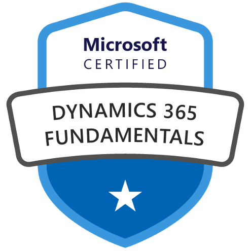 Dynamics 365 Fundamentals Badge