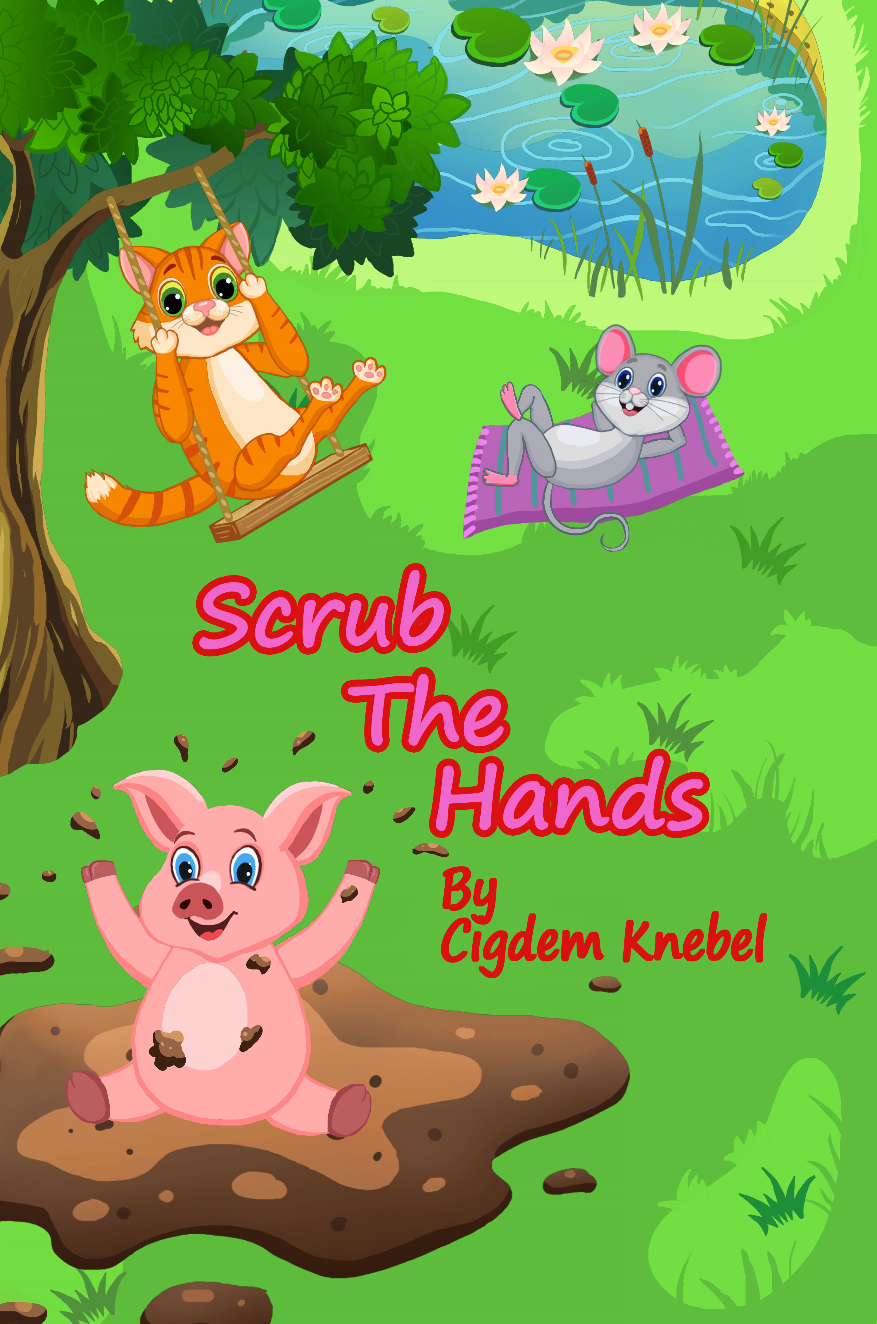 Scrub The Hands - Simple Words Books