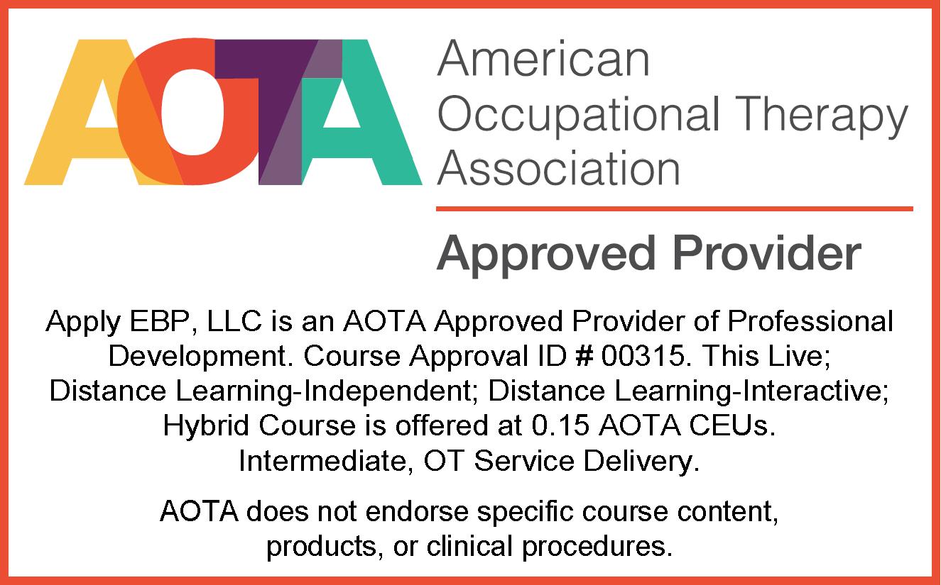 AOTA Approval