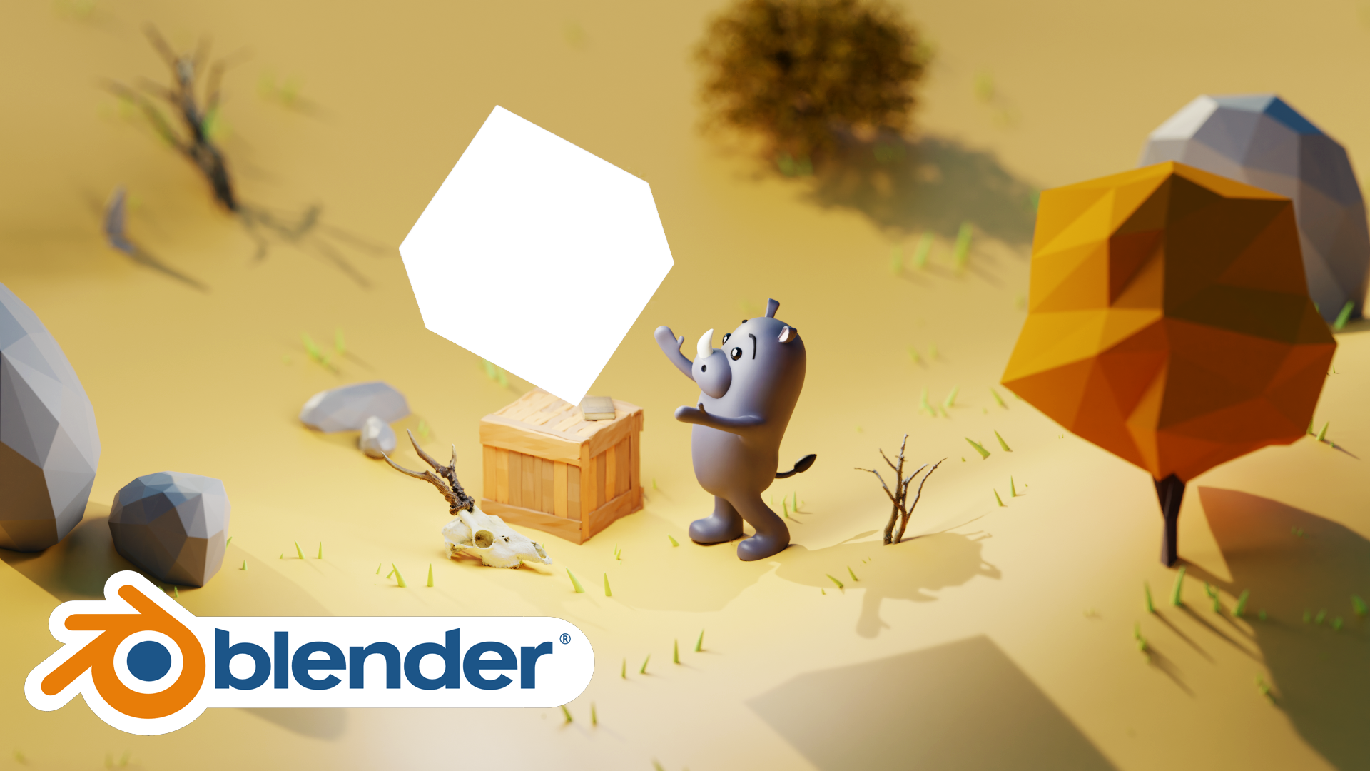 Simple Animal Model Blender Academy Course