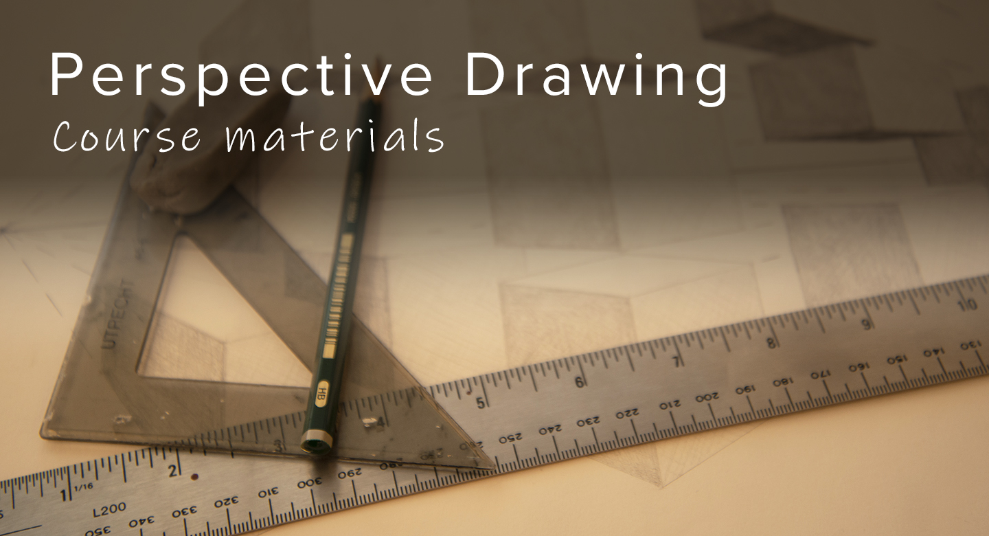 Materials needed for RL Caldwell Studio