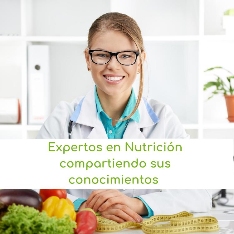 Experto en Nutrición compartiendo sus conocimientos