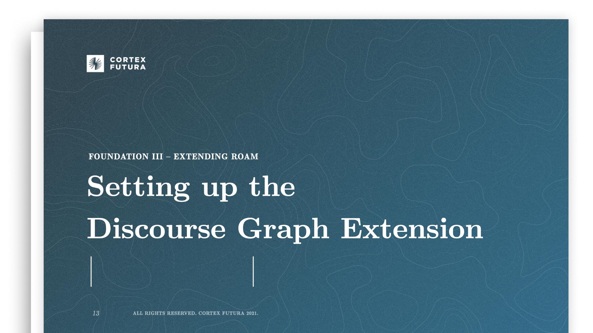 Setting up the Discourse Graph Extension