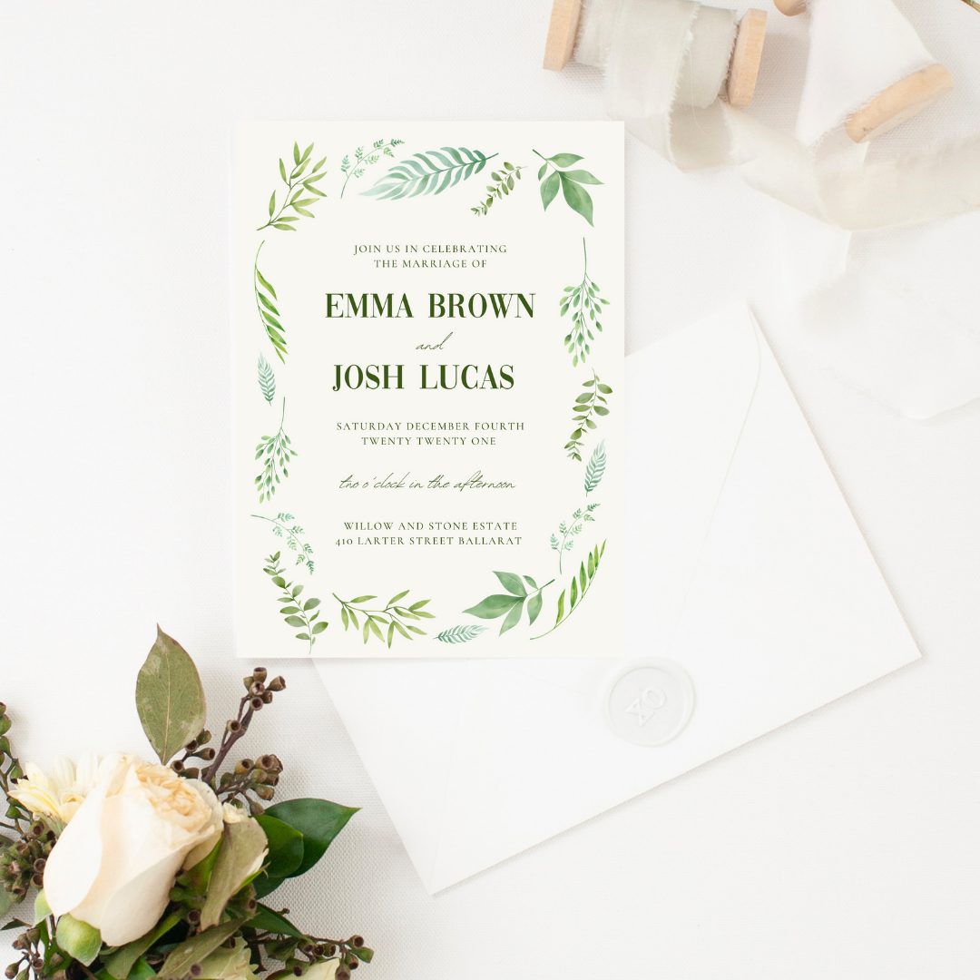 Ivory Haus Wedding Invitations