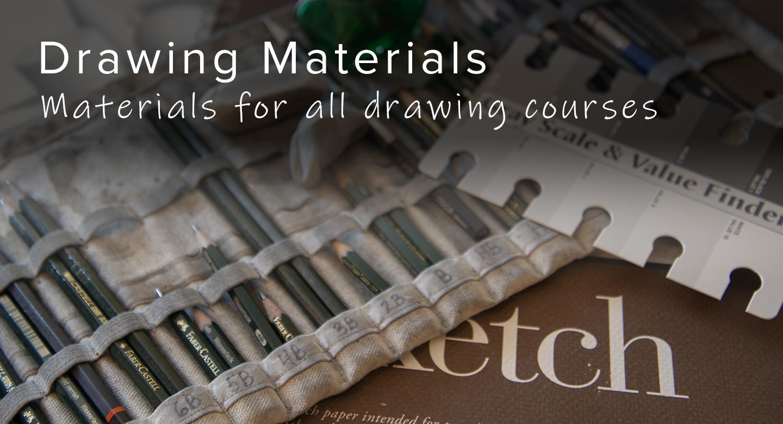 Drawing materials for RL Caldwell