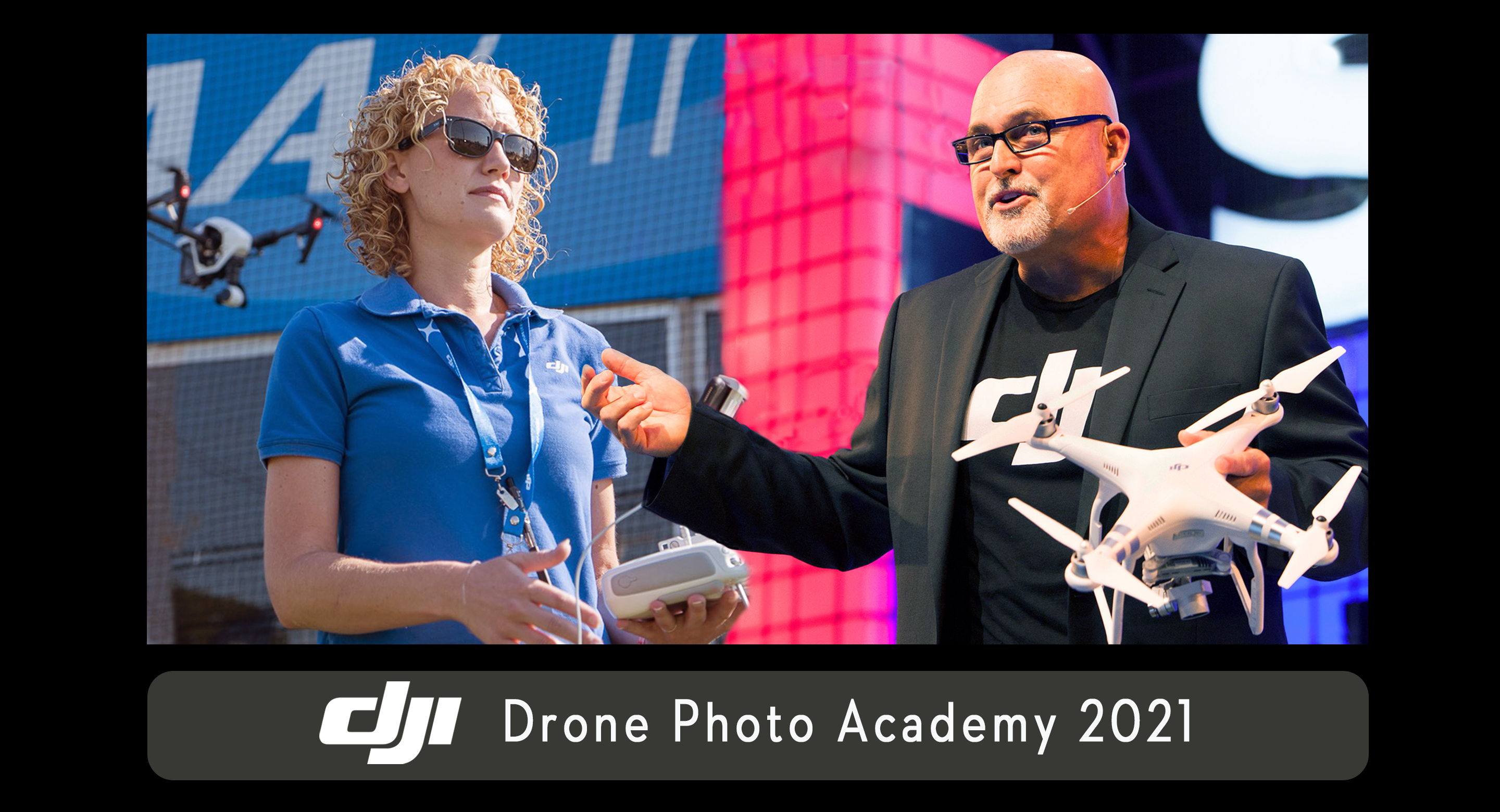 Randy and Stacy are your DJI Drone Photo Academy Instructors