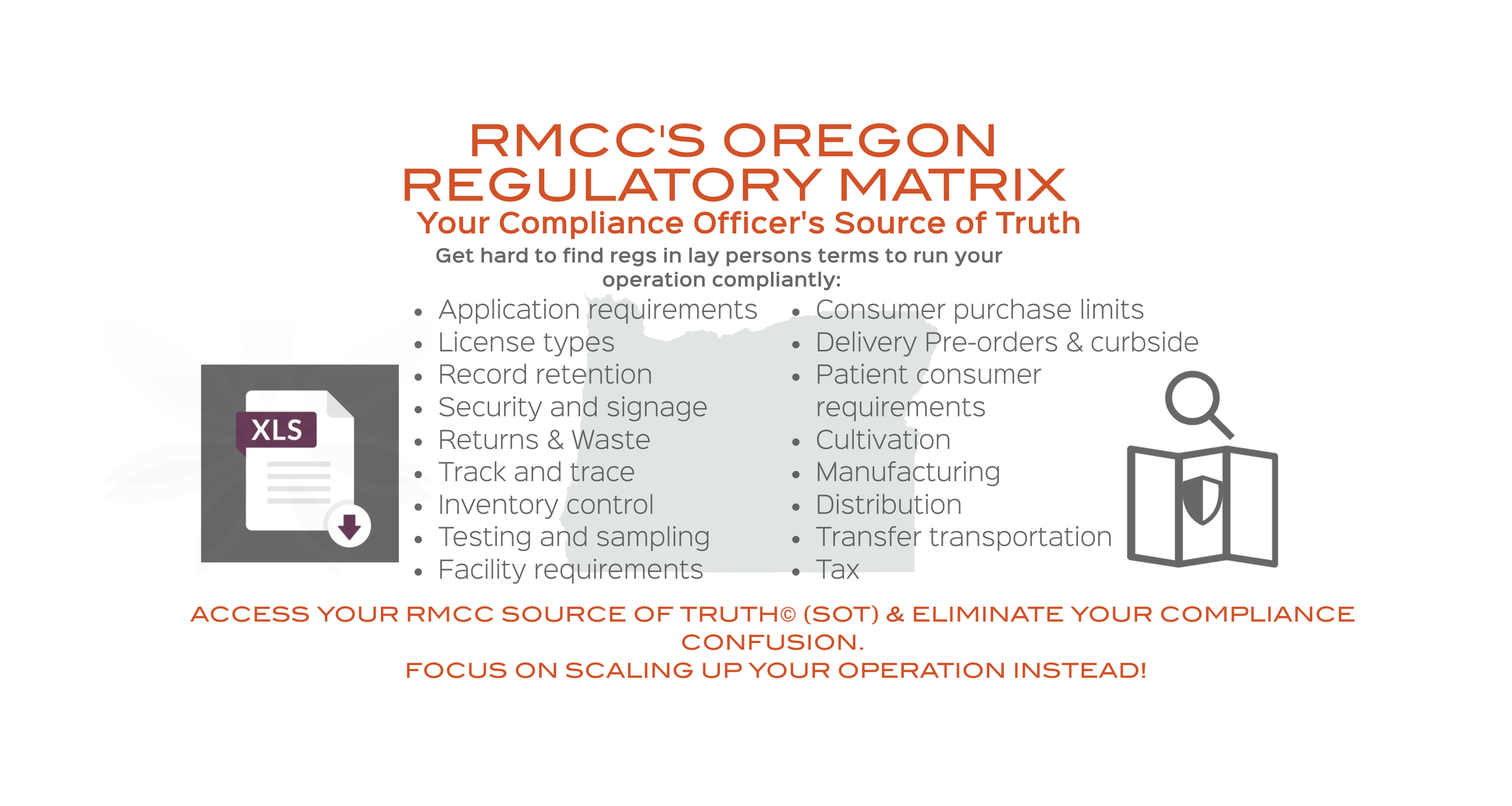 Oregon Regulatory Matrix