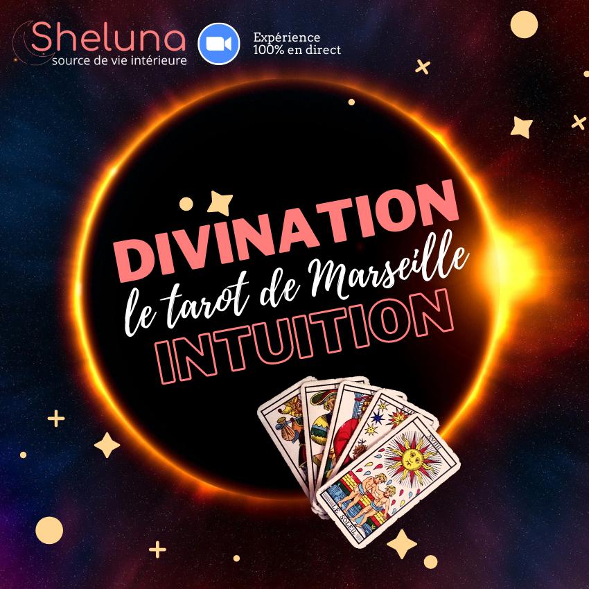 Sheluna Intuition Academy - Divination et intuition avec le tarot de Marseille