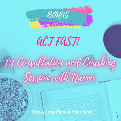 1:1 Consultation / Coaching