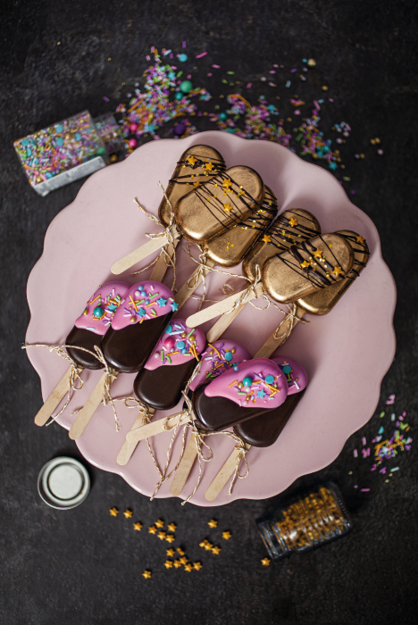 Cakepops / Paletas de Torta