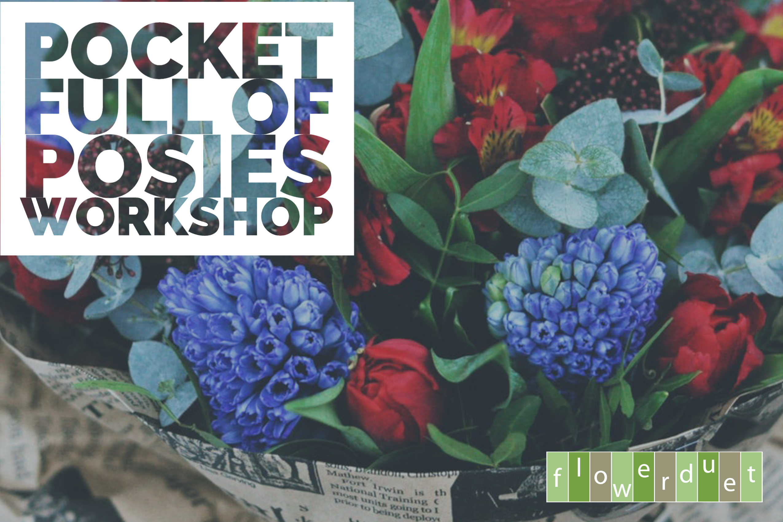 Pocket full of Posies Workshop