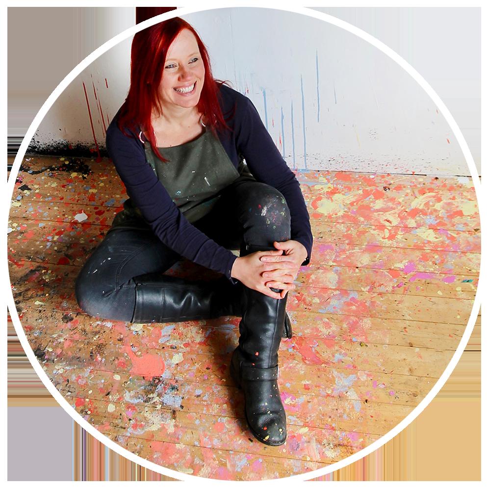 Kate Green abstract artist & tutor