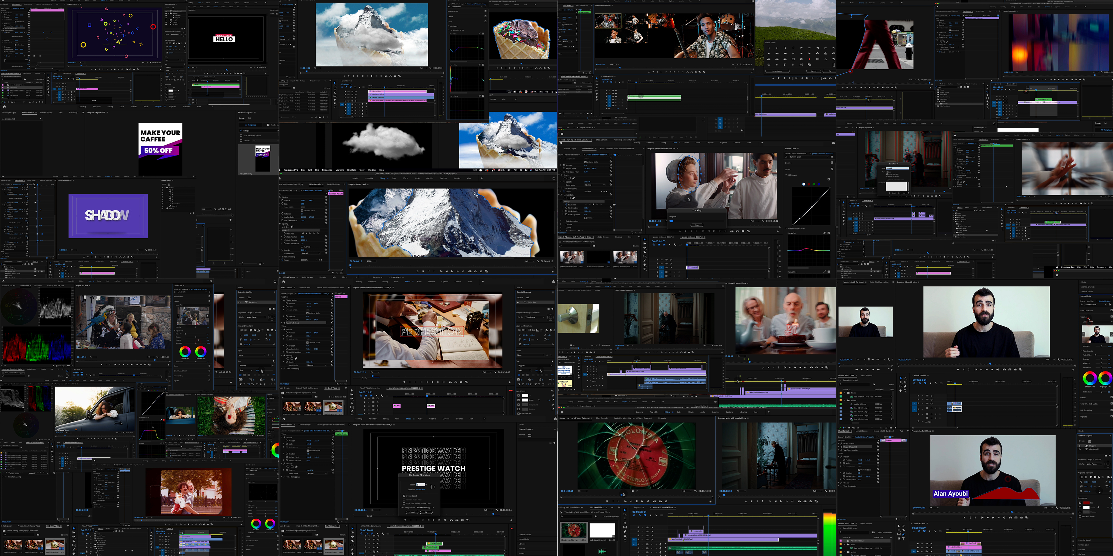 Adobe Premiere Mega Course